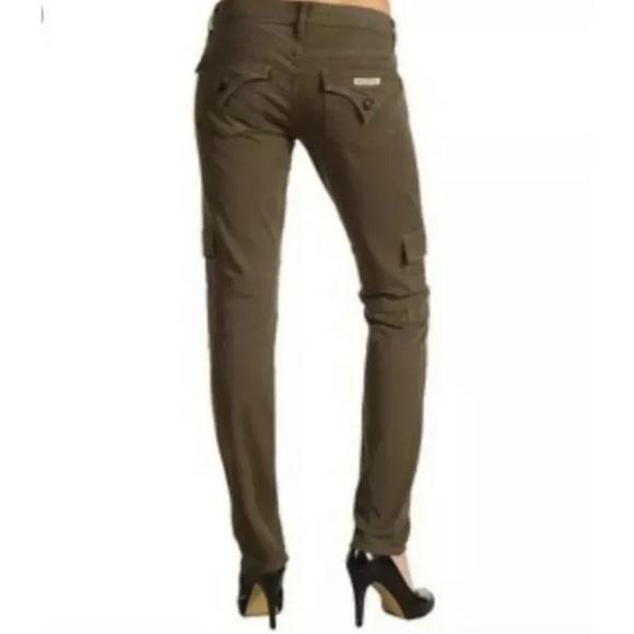Hudson Jeans Denim - Hudson Military Cargo Skinny Ankle Jeans Sz 27
